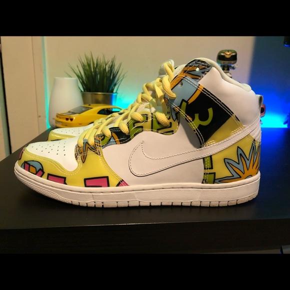 size 40 0bd3f 39e11 Nike SB Dunk High De La Soul size 10.5